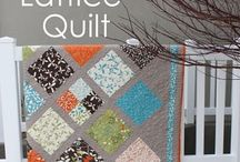 quilt ideas / a cool quilt w/ grey / by Tracy Martinson