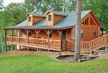 My Log Cabin Ideas / by Bobbi Nevels