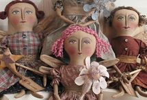Cloth Dolls / by Diane Meredith
