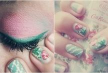 makeup. / by Savannah Boles