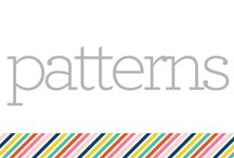 S E C T I O N :: Patterns / by Pencil Shavings Studio