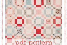 Quilt Pattern Wishlist ♥ / by Gwendellyn H