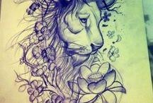 Tattoo art / by Jill Lycoops