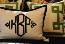 Custom Pillows / by Nell Hill's