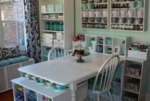 Craft Room. :)  / by Hollie Colwell