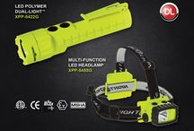 Nightstick Intrinsically Safe Dual-Lights / Nightstick Intrinsically Safe Dual-Lights are cETLus, ATEX, IECEx and MSHA listed Intrinsically Safe Permissible for use in hazardous locations where explosive gases and dusts may be present. For more information please visit www.mynightstick.com. / by Nightstick by Bayco Products, Inc.