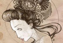 //ILLUSTRATION  / by Corrina Mascherin