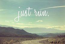 Run / by Katy McDonald