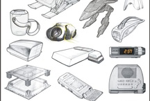 Industrial design sketches / Great ID sketches / by l r