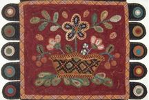 Penny Rugs & Wool Applique / by Merry Peasant
