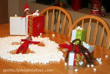 Elf on the Shelf with marshmallows / by Alejandra - The Marshmallow Studio