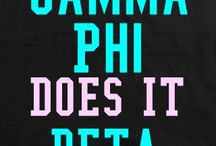Gamma Phi Beta / by Mary Kate