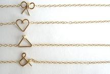 jewelry / accessories / by Stephanie Olmstead