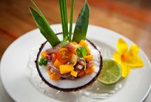 Kai Manje Restaurant & Bar / Our international cuisine is specially prepared by our Executive Chef and his team who are well known for their creole infused cuisine. A range of fresh local produce and traditional herbs and spices are grown on the resort's grounds and help create sumptuous treats on the extensive menu. / by Ti Kaye Resort & Spa