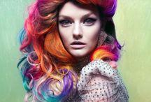 Rainbow Coloured Hair / by Shadow Flower