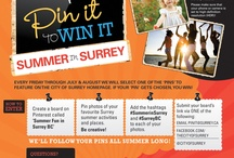 Pin It to Win It!  / Pin your best photos of #SummerinSurrey fun in #SurreyBC and if your pin gets chosen, you WIN! Visit www.surrey.ca/pinit for full contest details. 