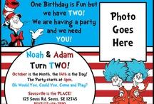 birthday and Party Ideas / by Priscilla Hamilton