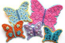 butterflies / by Célia Cristina