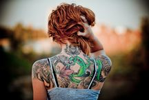 tattoos // piercings  / by Beverly Armstrong