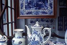 Blue and white / by Pine Cones and Acorns Blog