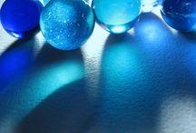 color: blue / by Melissa Tibbals-Gribbin
