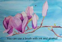 Alcohol Inks / by Lynn Saller