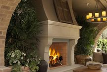 Fireplaces / by Sheri Schluter