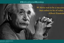 #MotivationalMondays / Every Monday we will share inspirational and motivational images and quotes. / by Princeton University Career Services