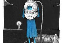 Illustrations / by Laura Gomel