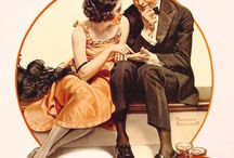 Norman Rockwell / by Michelle Warhola