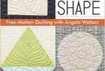 Shape By Shape Quilting / My biggest book yet, Shape By Shape quilting contains several designs organzed by shape, as well as designs for borders or negative space. Release date of 9/1/2012   To order a signed copy visit: http://quiltingismytherapy.bigcartel.com/product/shape-by-shape-preorder / by Angela Walters