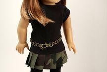 Ameracen girl dolls / by Kaley White