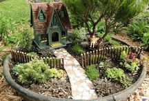 Fairy garden / by Cindy Countie