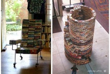 Bookshelf, library, bookstores ... living in books and with books / by Sylvie Demarcq