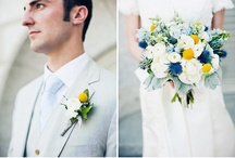 Blue & Yellow Wedding / by Revel Events