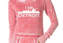 """I am DETROIT (and so can you) / Yep. I typed that correctly. These things represent """"The City."""" / by Colleen Wolfbauer"""