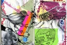 SKETCHBOOKS / ass-kicking inspirational sketches / by machin candao (PINS)