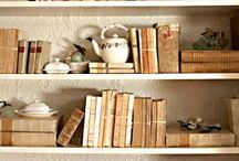 Bookshelves / by snapsandscraps