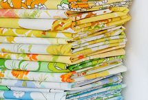 pdc: vintage sheet swap / I'm hosting a Vintage Sheet Swap at Polka Dot Cottage. Let's use this board for information and ideas about vintage sheets: what they are, where to find them, how to use them in your crafting, etc. (The swap is over, but I still have some sewing and fabric boards worth checking out. Follow me!) / by Polka Dot Cottage