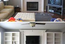Flat lounge / by Jon Gobie