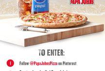 Papa John's #BetterSummer Contest / by Dana Rodriguez