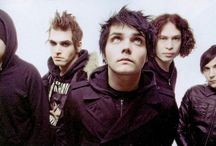 My Chemical Romance ... / I also LOVE these precious, talented guys ... will forever.  So creative.  And Ray's one of the best, and most overlooked guitarists of today.  I love what they stand for and believe in, too.   / by Tisha Hudson