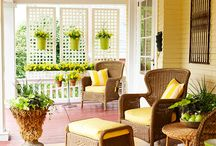 Porch ideas / by Bookroomreviews Family Review Website.
