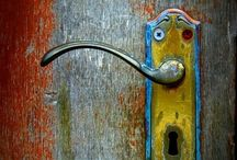 Doors to my dreamland / Ancient door, all kinds of doors. A simple thing that opens up different opportunities for all us! #door #color #ancient #modern #art #photography #travel #vintage  / by Mehru Pekus