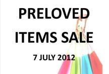 Preloved Items Sale at Damansara Perdana / monthly sale at my office in Damansara Perdana, Petaling Jaya  https://www.facebook.com/PrelovedDamansaraPerdana / by Merapi Indah