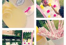 Lemonade Stand Party / by Paula Biggs for Frog Prince Paperie