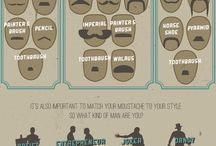 Men's Grooming / Mustache, Grooming, beard, beards, style, fashion. Www.fuzzy-ink.com / by Fuzzy Ink