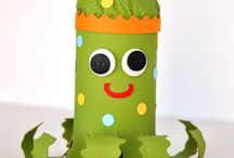 Let the Good Times Roll-paper tube crafts / by Lisa Lang