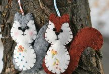 Felt Crafts / by Wendy Smith