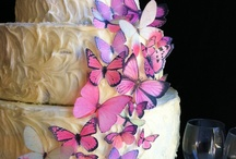 Butterfly Wedding Cake / by Diane Castro